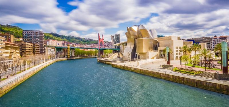 Nord della Spagna da Bilbao Europa
