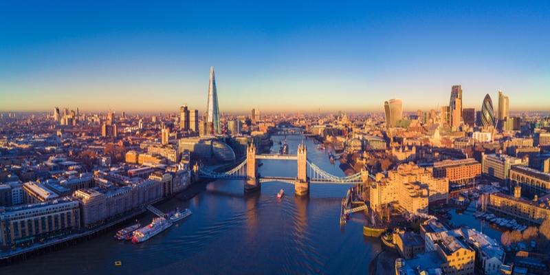 Inghilterra - Ponti invernali a Londra Europa