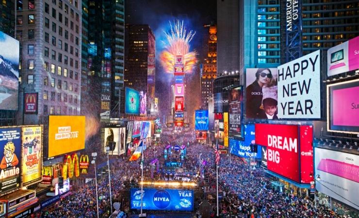 Capodanno a New York Mondo