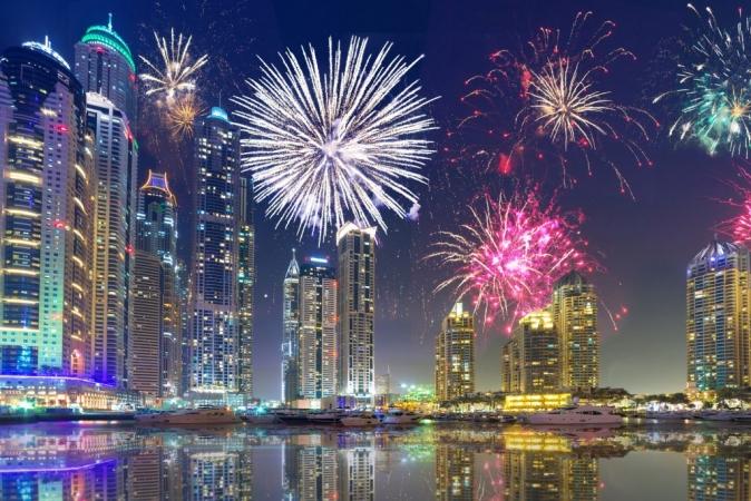 Capodanno ad Abu Dhabi Mondo