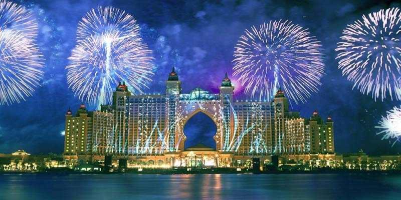 Capodanno a Dubai Mondo