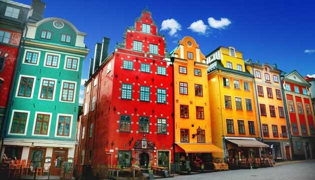 Tra Stoccolma e Lulea Europa