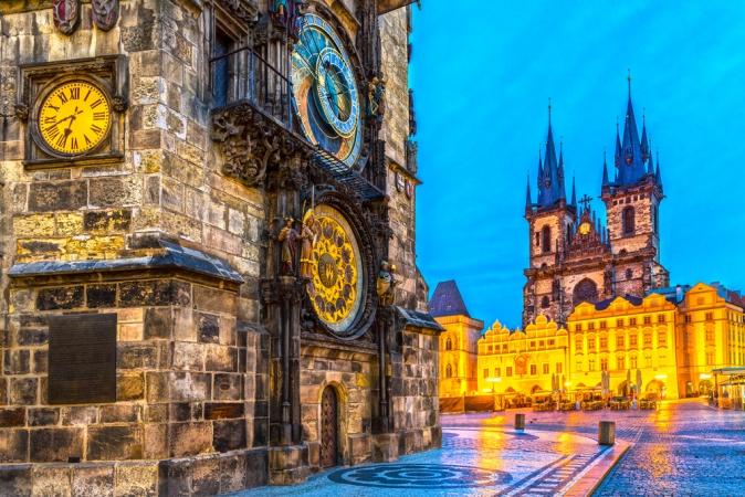 Panorami dell'Est Europa da Praga Europa