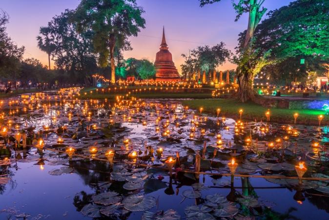 Capodanno in Thailandia Mondo
