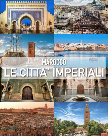 Tour delle città Imperiali Marocco Natale e Capodanno dalla Sardegna