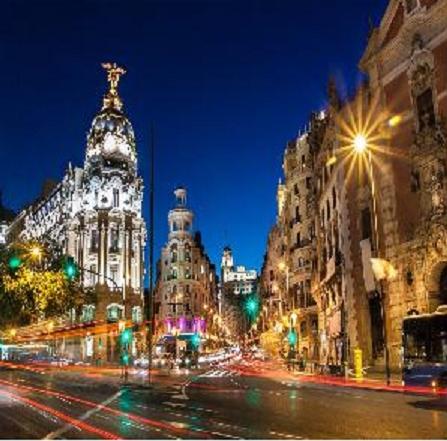 Spagna Triangolo d'oro Europa