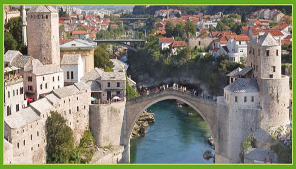 Sarajevo Mostar Belgrado Europa