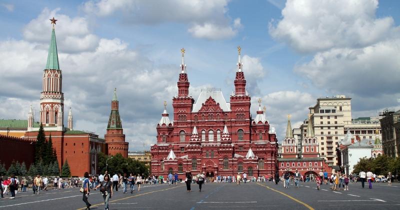 Mosca San Pietroburgo Più Europa