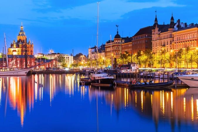 Capitali Baltiche e Helsinki Europa
