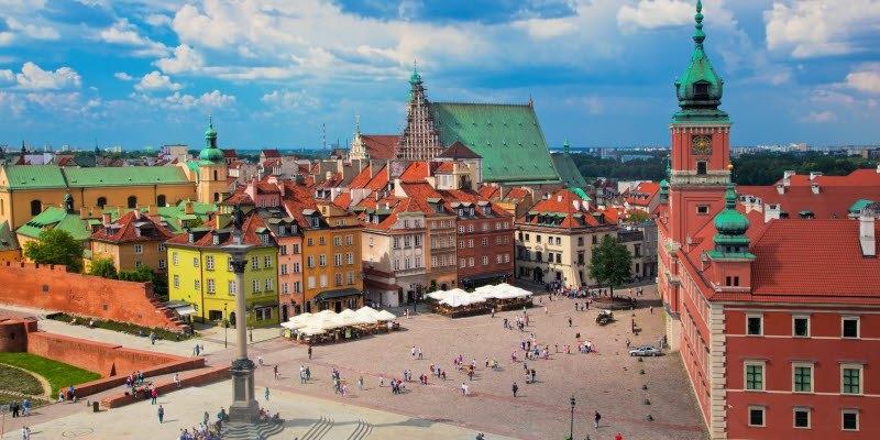Varsavia Minitour 4 giorni Europa
